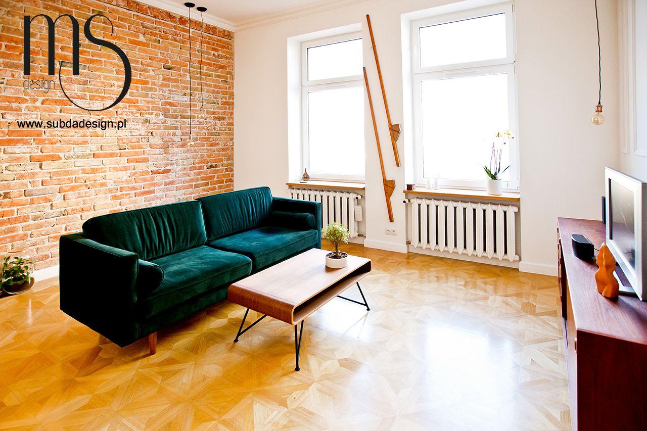 Pomysł na mały salon