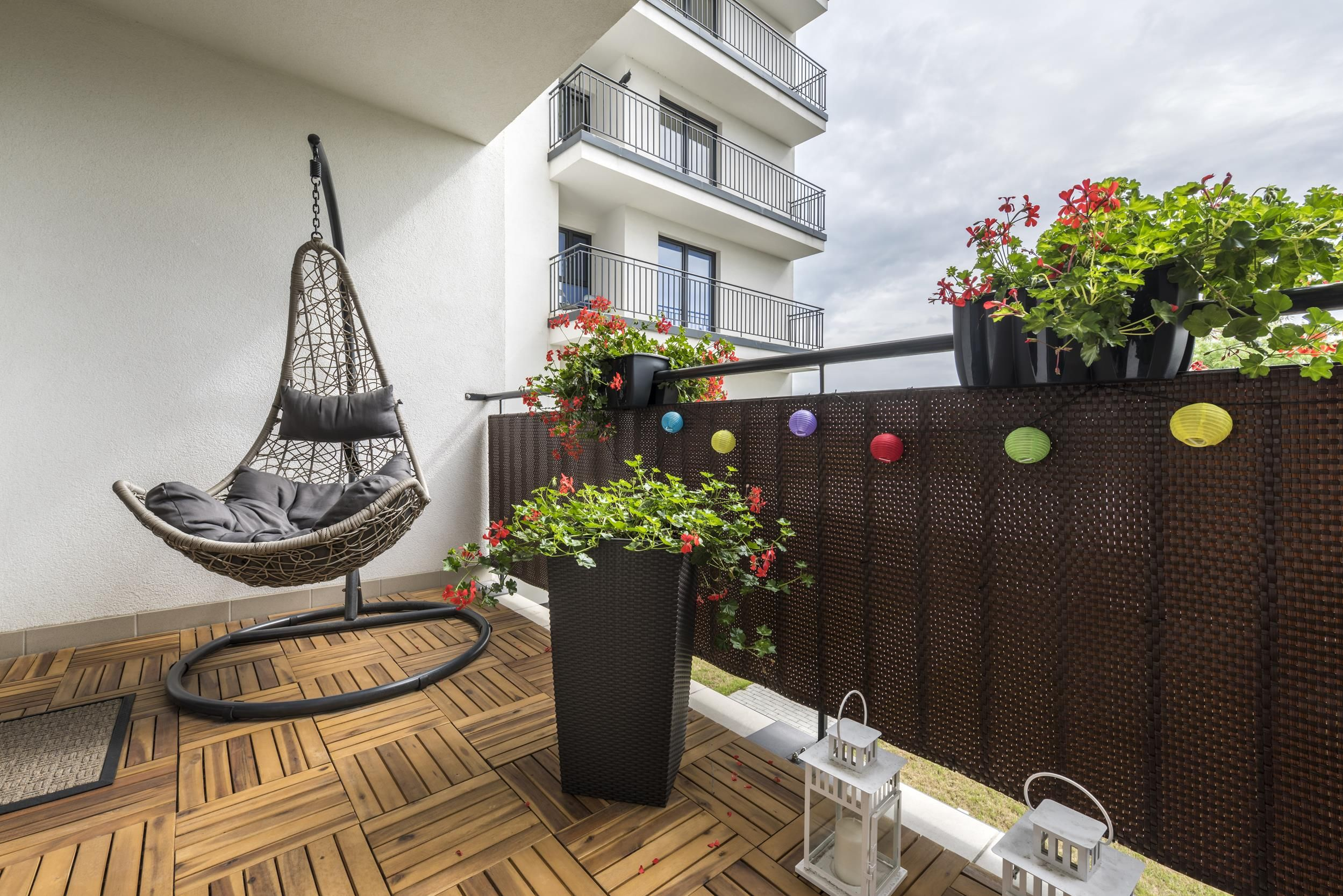 Aranżacja balkonu i tarasu