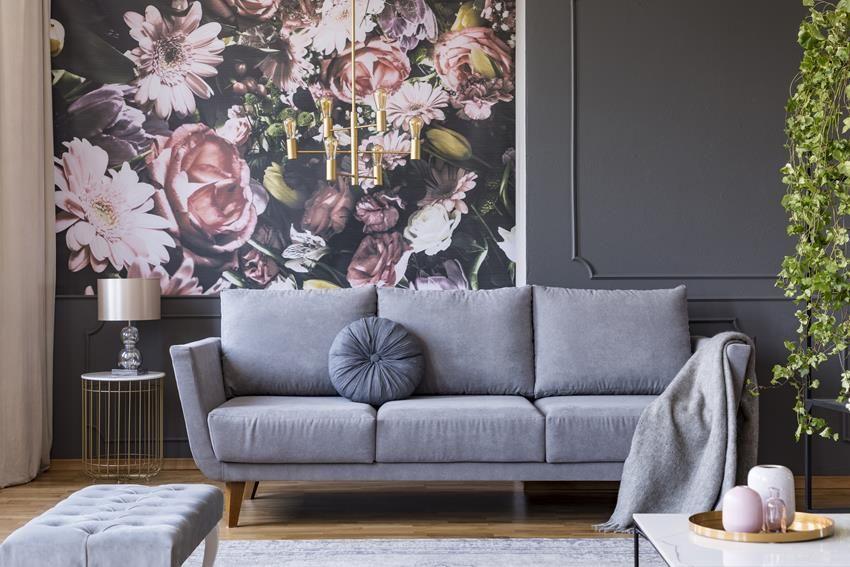 Florystyczne motywy we wnętrzach – jak je wykorzystać?