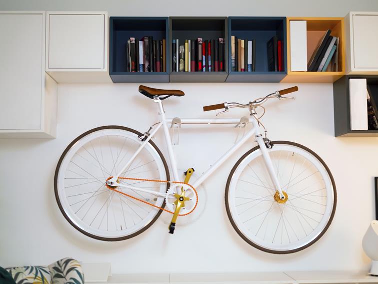 Jak trzymać rower w mieszkaniu?