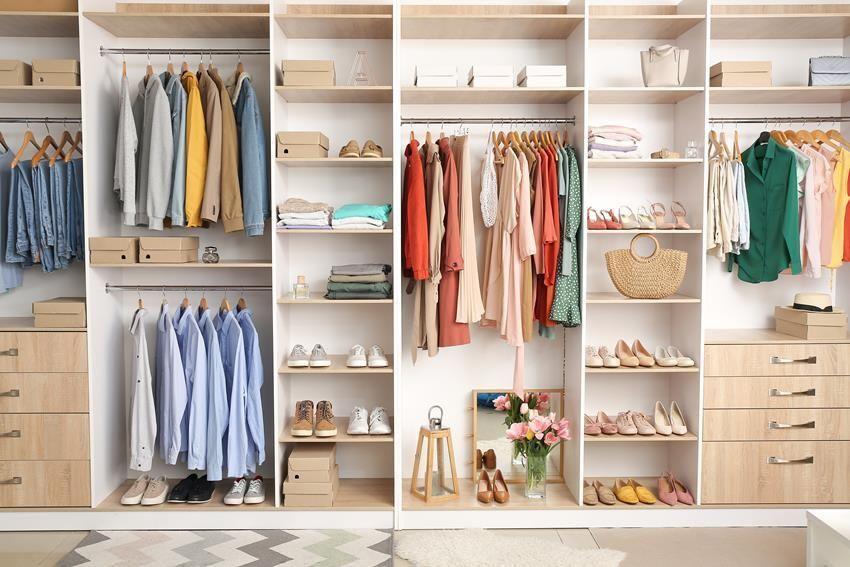 Jak zaplanować wnętrze szafy?