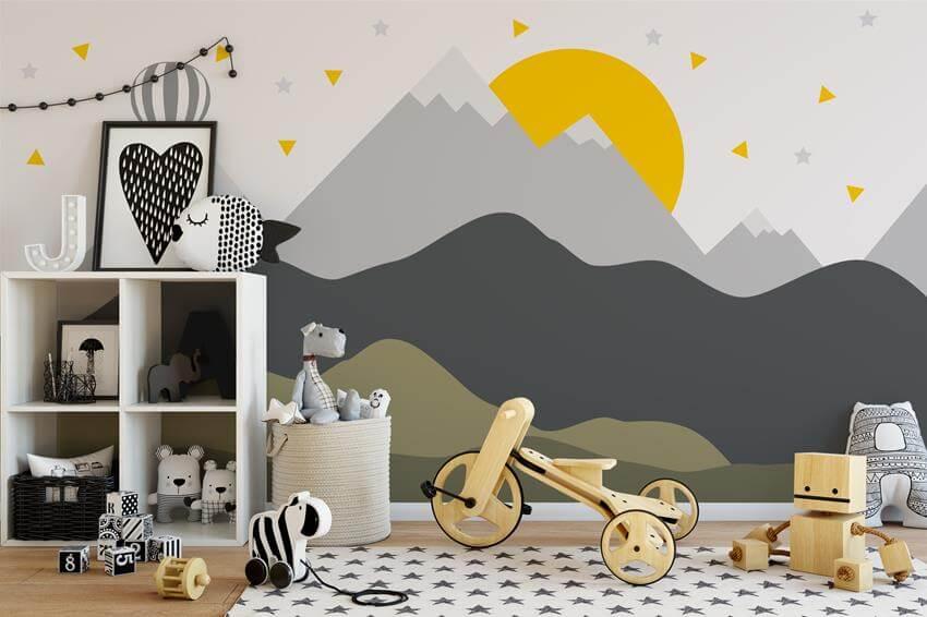Rysunki na ścianie – pomysł na aranżację pokoju dziecka