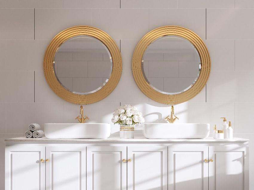 Kolory w łazience w stylu modern classic — sprawdź, na co warto postawić